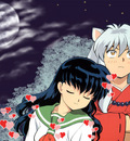 Anime   Inuyasha   Kagome In Love   Wallpaper