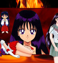 Sailor Mars wallpaper by Laurenthewafflefairy