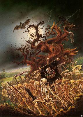 john blanche skeleton horde