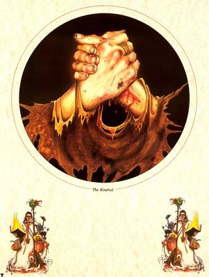 john blanche the kindred