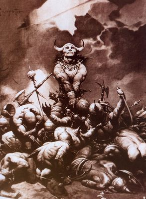 frank frazetta conan the buccaneer
