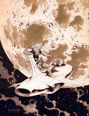 frank frazetta coverbuckrogers