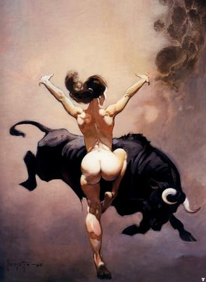 frank frazetta dancer from atlantis