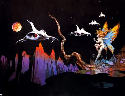 frank frazetta dream flight