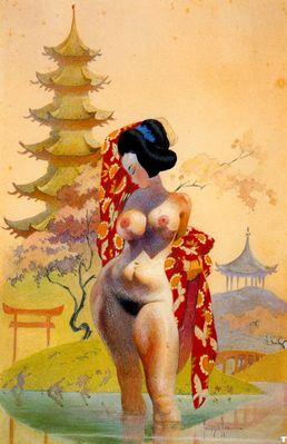 frank frazetta geisha