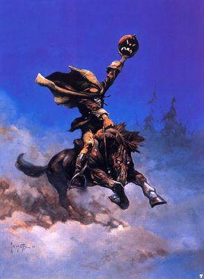 frank frazetta headless horseman I