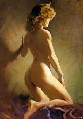 frank frazetta nude