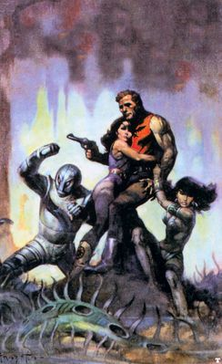 frank frazetta thesolarinvasion
