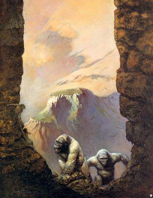 frank frazetta whitegorillas