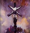 frank frazetta aliencrucifixion