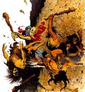 frank frazetta battle