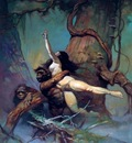 frank frazetta captiveprincess