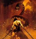 frank frazetta chained