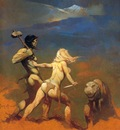 frank frazetta cornered