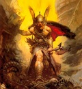 frank frazetta darkkingdom
