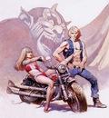 frank frazetta devil rider