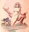 frank frazetta girlbathing