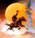 frank frazetta headless horseman II