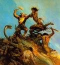 frank frazetta indomitable