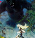 frank frazetta king kong