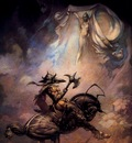 frank frazetta theapparition