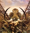 frank frazetta themammoth