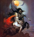 frank frazetta themoonmaid