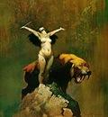 frank frazetta tigerwoman