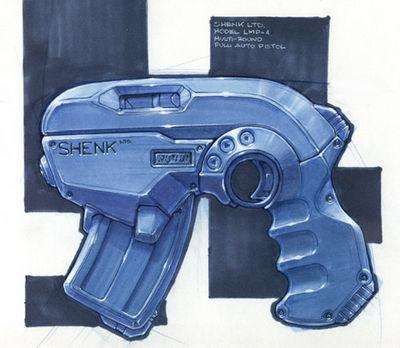 Compact Machine Gun