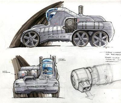 Police Tank Grey