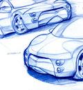 car sketch