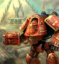 Thousand Sons Dreadnaught by karichristensen