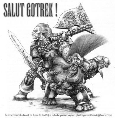 Gotrek mithrandir
