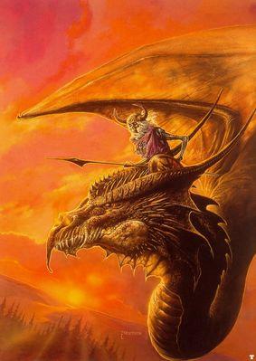 bob eggleton the war dragon