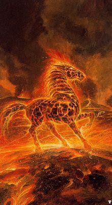 bob eggleton firehorse