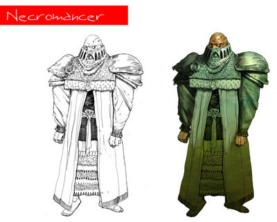 character necromancer