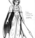 half elf sorceress