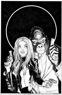 Angel  The Ape 1 Unused Cover