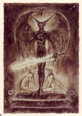 luis royo tarot el diablo