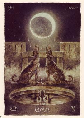 luis royo tarot la luna