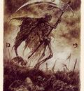 luis royo tarot la muerte