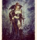 luis royo tarot sota de espadas