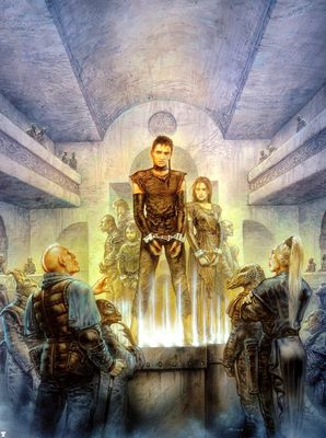 luis royo a novel of the silent empire