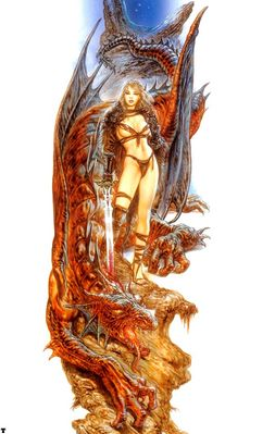 luis royo dream of the dragon