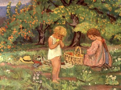 The Children s Picnic, Henri Lebasque