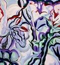 abstract plant series iii, freshman brown,
