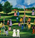 Maypoles, Anna Belle Lee Washington