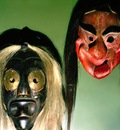 Iroquois Spirit Masks, Smithsonian, Washington D C