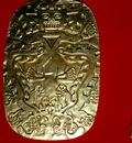 Peruvian Gold Plaque, Smithsonian, Washington D C