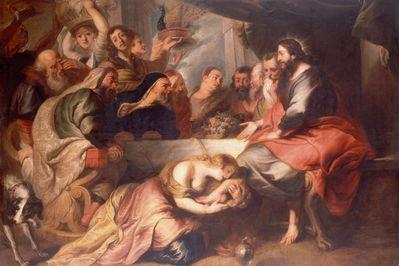 Christ in the House of Simon, Rubens